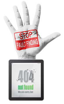 Stop-fault-finding